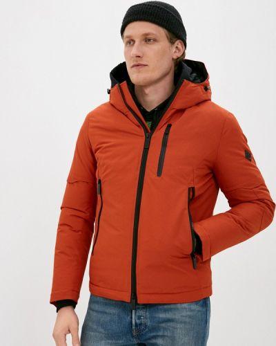 Оранжевая утепленная куртка Qwentiny