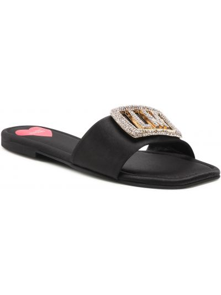 Sandały casual - czarne Love Moschino