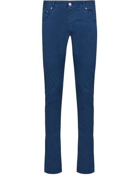 Прямые зауженные прямые джинсы с карманами на молнии Bilancioni