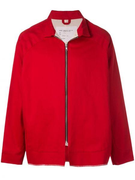 Мешковатая красная куртка на молнии с воротником Camiel Fortgens