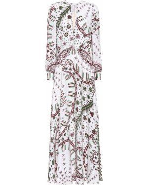 Платье леопардовое Valentino