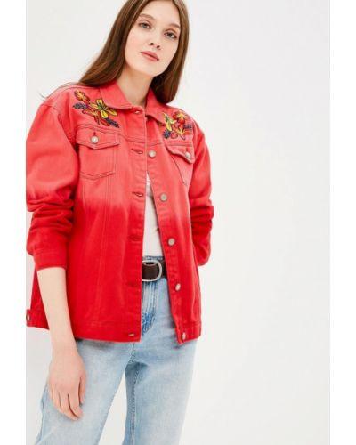 Красная джинсовая куртка Glamorous