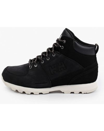 Черные кожаные ботинки Helly Hansen