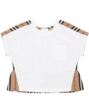 Рубашка с принтом с карманами Burberry