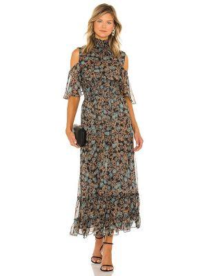 Шифоновое платье - зеленое Misa Los Angeles