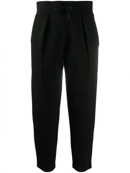 Czarny bawełna spodni spodnie z kieszeniami Givenchy