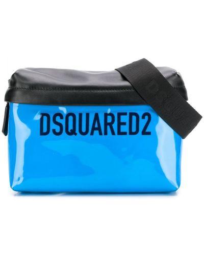 Поясная сумка на молнии квадратная Dsquared2