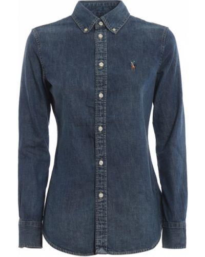 Koszula jeansowa - niebieska Ralph Lauren