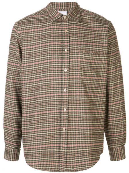 Классическая фланелевая рубашка с воротником на пуговицах Portuguese Flannel