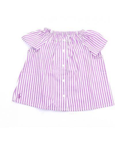Fioletowa koszula na co dzień Ralph Lauren