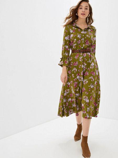 Платье прямое осеннее Fashion.love.story