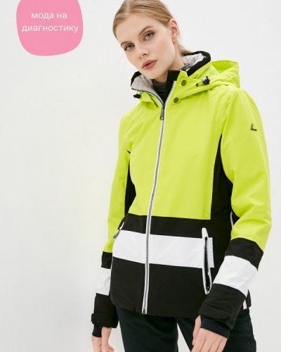 Желтая куртка горнолыжная Luhta