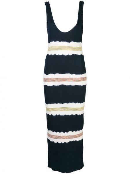Платье миди с открытой спиной макси M Missoni