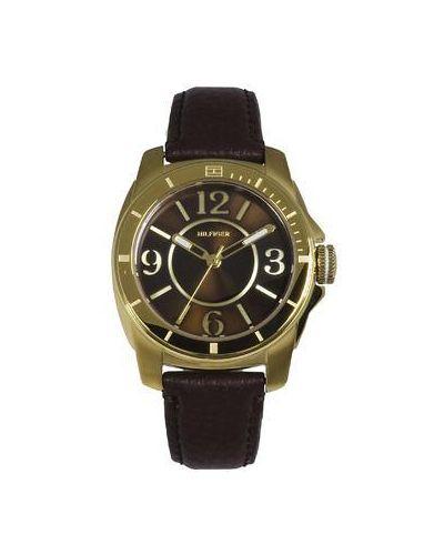 Часы на кожаном ремешке Tommy Hilfiger