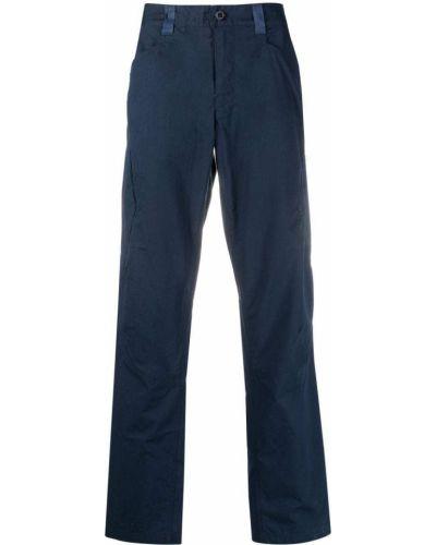 Niebieskie spodnie materiałowe z paskiem Patagonia