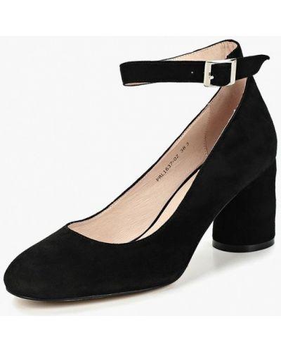 Туфли на каблуке с застежкой на лодыжке осенние Portal