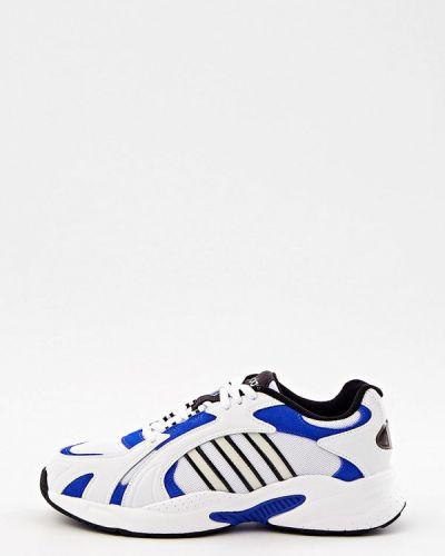 Белые зимние кроссовки Adidas