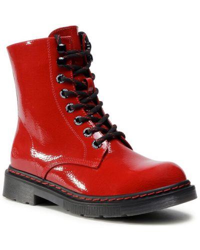 Botki - czerwone Dockers By Gerli