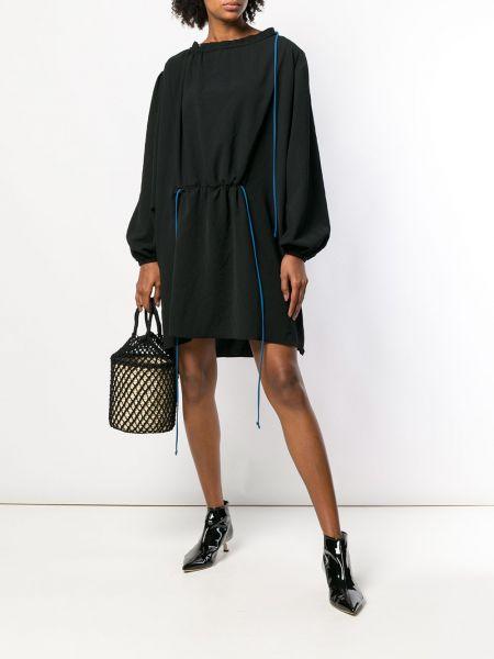 Платье мини облегающее с заниженной талией Loewe