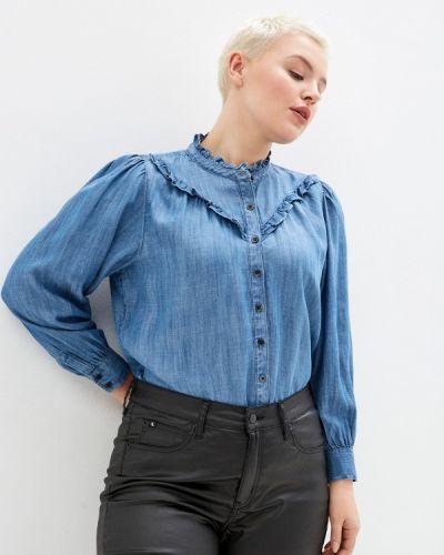 Блузка - синяя Marks & Spencer
