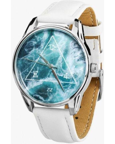 Белые часы Ziz
