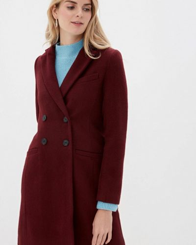 Пальто демисезонное бордовый Befree