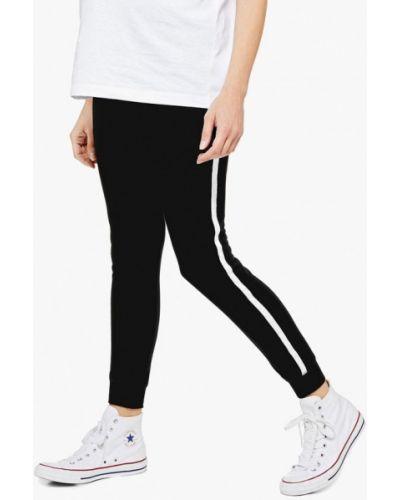 Спортивные брюки весенний черные Topshop Maternity