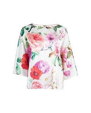 Блузка - белая Elisa Fanti