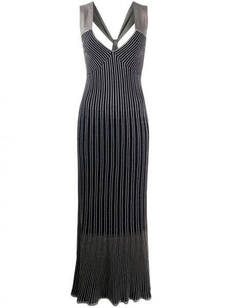 Платье с открытой спиной с V-образным вырезом M Missoni