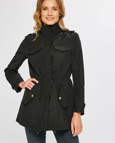 Утепленная куртка с капюшоном прямая Armani Exchange