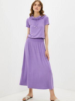 Фиолетовое платье мадам т