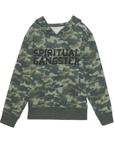Кофта с принтом Spiritual Gangster