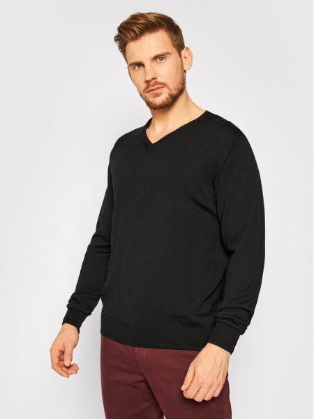 Czarny sweter Digel