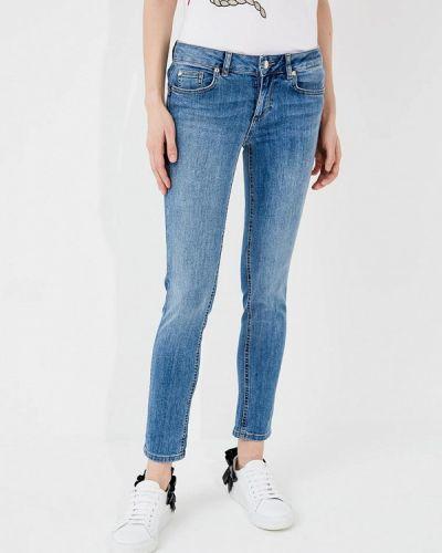 Голубые джинсы-скинни Liu Jo Jeans