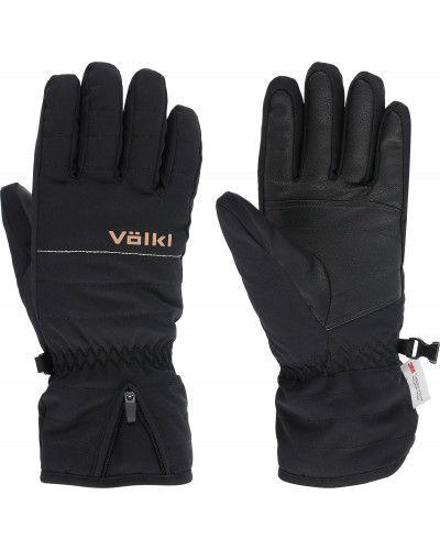 Черные перчатки из полиуретана VÖlkl