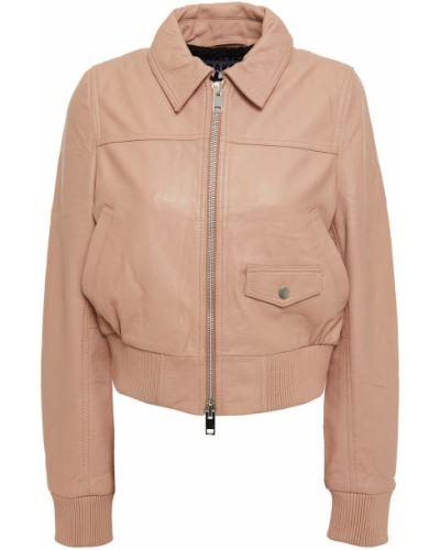 Кожаная куртка с подкладкой с манжетами Walter Baker