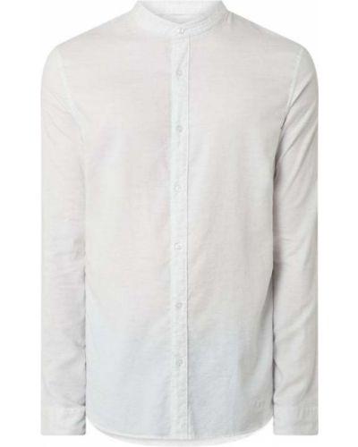 Biała koszula oxford bawełniana z długimi rękawami Nowadays