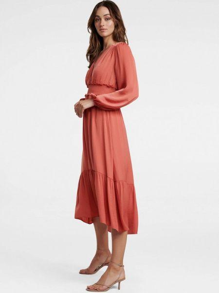 Платье коралловый прямое Forever New