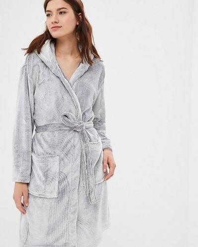 Серый халат домашний Loungeable