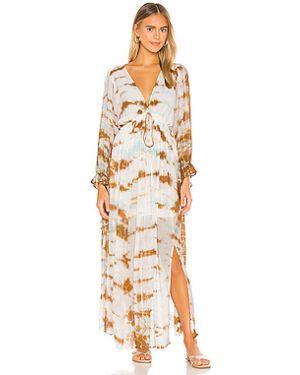 Платье макси с поясом шифоновое Young Fabulous & Broke
