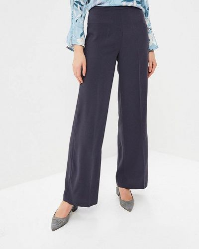 Серые брюки повседневные Sela