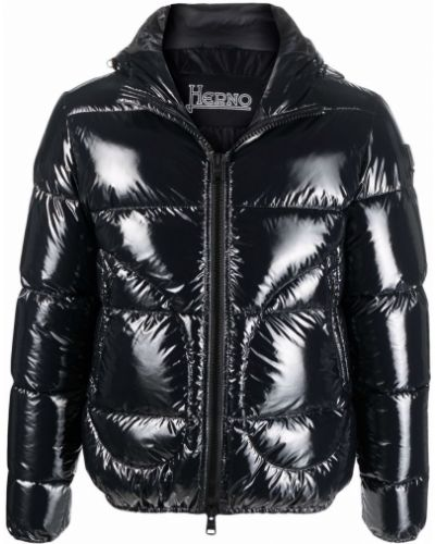 Куртка с капюшоном - черная Herno