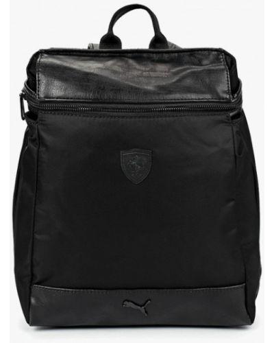 Черный рюкзак городской Puma