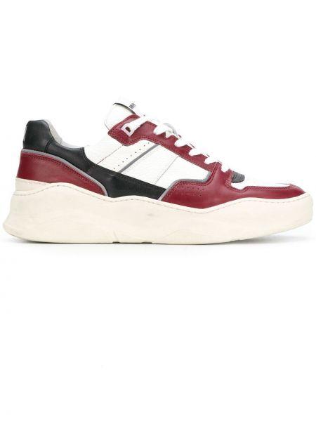 Кожаные кроссовки - белые Ami Paris