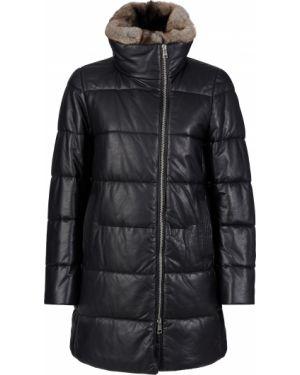Куртка из кролика - черная Gallotti