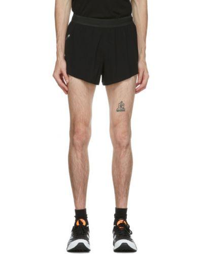Трикотажные черные шорты для бега Soar Running