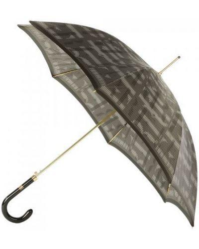 Зонт зонт-трости серый Ferre Milano