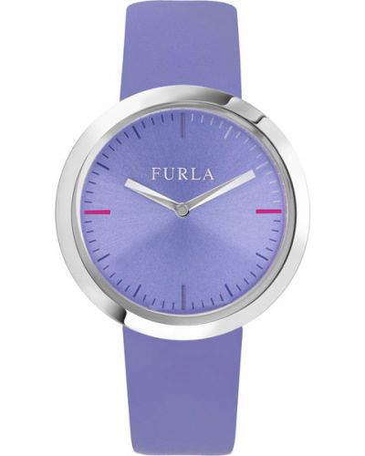 Часы на кожаном ремешке кварцевые водонепроницаемые Furla
