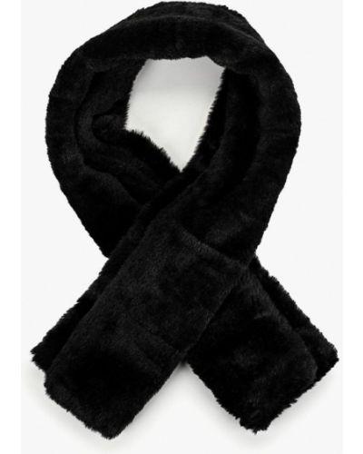 Черный шарф осенний Vitacci