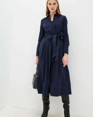Платье - синее Laurèl